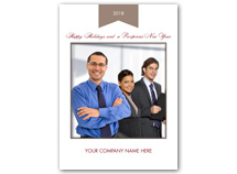Company Thanks Holiday Photo Cards