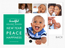 Beautiful Holiday Season Holiday Photo Cards